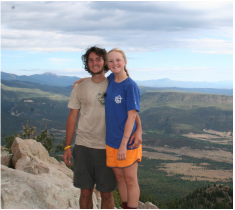 At Philmont on our trek in 2006